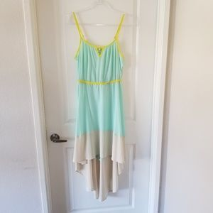 2/$20 🌟 Willow & Clay Mint Color Block Dress M